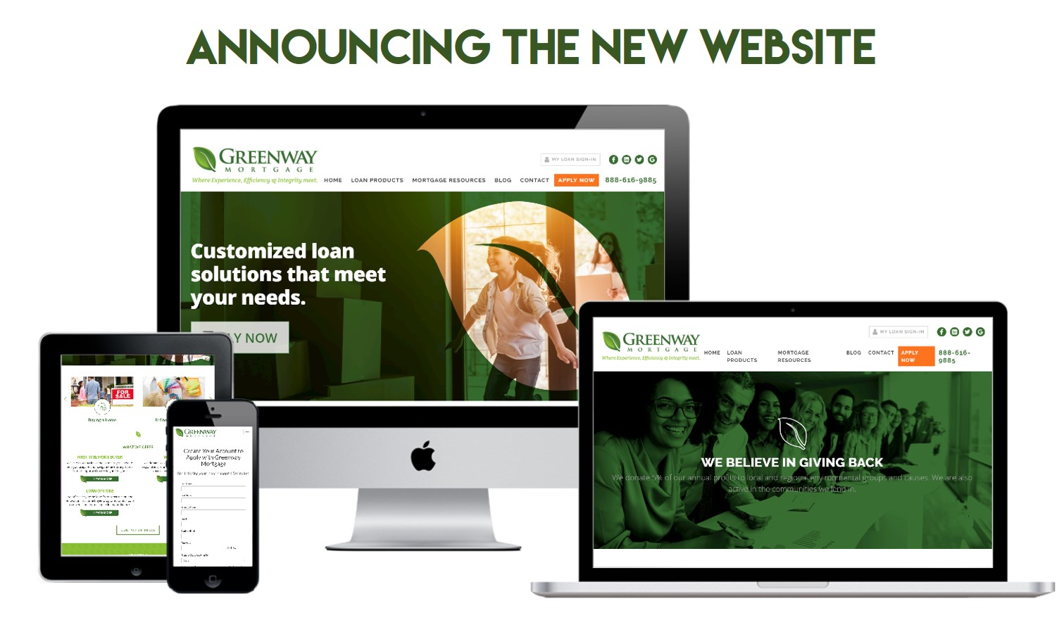 Greenway Mortgage Launches a New Updated Website!