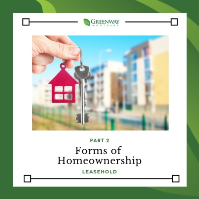 Part 2: Forms of Homeownership: Leasehold