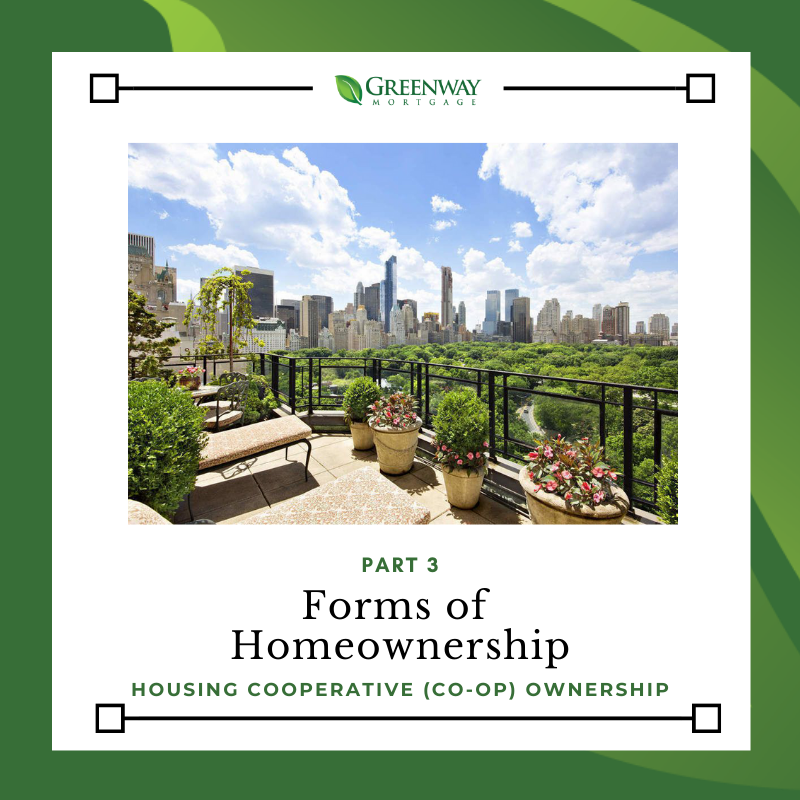 Part 3: Forms of Homeownership: Housing Cooperative