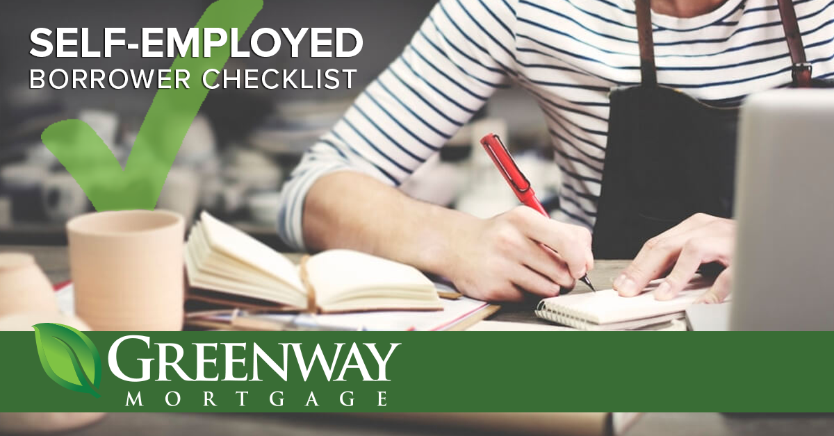 Checklist for Self-Employed Borrowers During COVID-19