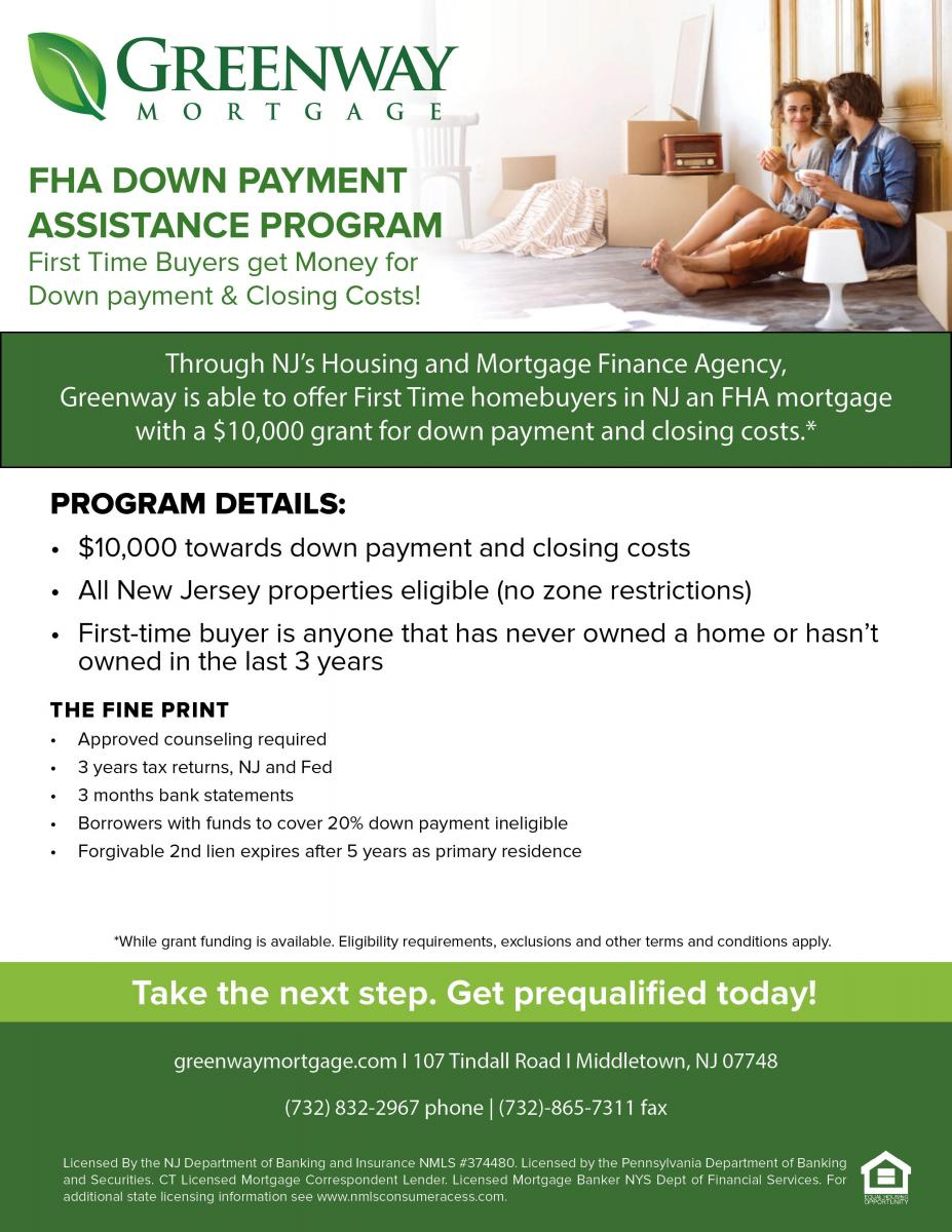 Down Payment Assistance Programs Help First Time Home Buyers